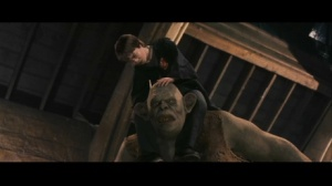 Harry Potter and The Sorcerer's Stone, Digitally added Harry on CGI troll