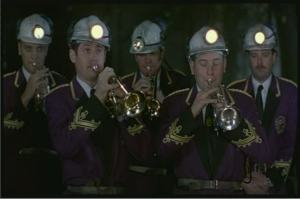 from Brassed Off (1997). Play OUTSIDE of work.