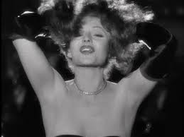 Rita Hayworth in Gilda.