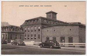Jaffrey Mill Postcard