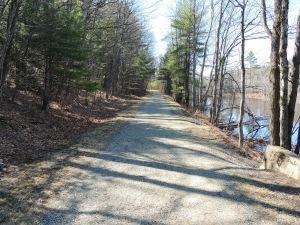 Rail Trail Jaffrey, NH