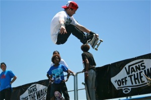 Skateboarder 2011 Vans Warped Tour