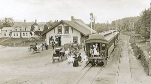 West Rindge, NH Railroad Station