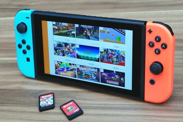 Nintendo Game Nintendo Switch Play Console Video