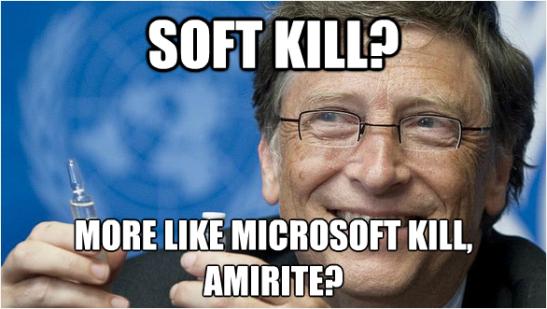 Microsoft kill pun